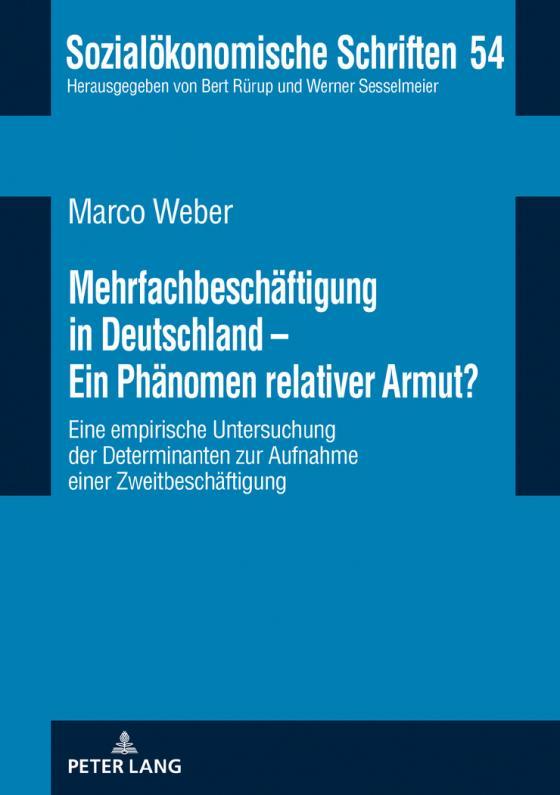 Cover-Bild Mehrfachbeschäftigung in Deutschland - Ein Phänomen relativer Armut?