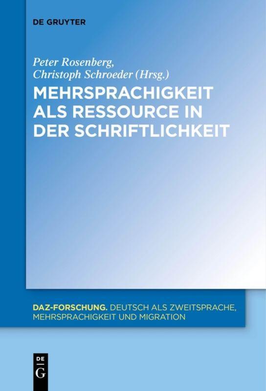 Cover-Bild Mehrsprachigkeit als Ressource in der Schriftlichkeit