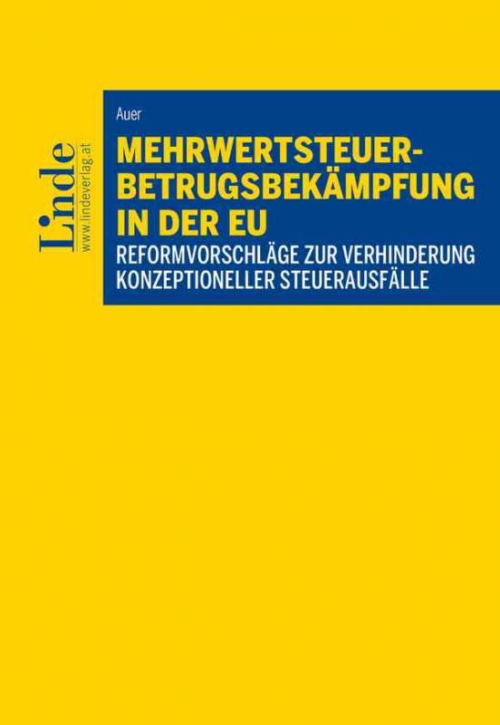 Cover-Bild Mehrwertsteuerbetrugsbekämpfung in der EU