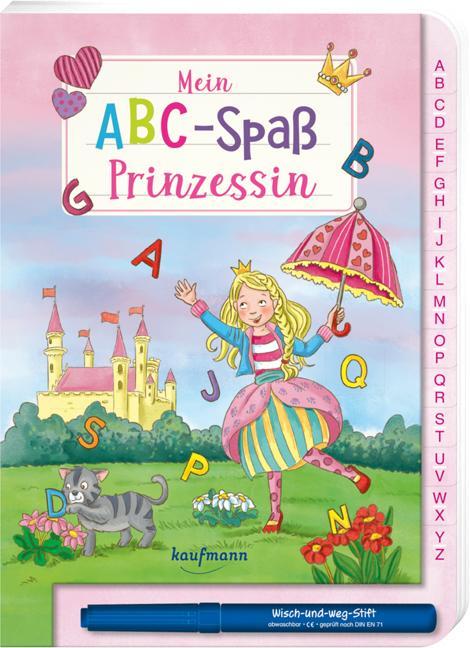 Cover-Bild Mein ABC-Spaß Prinzessin