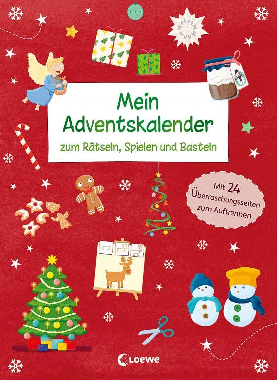 Cover-Bild Mein Adventskalender zum Rätseln, Spielen und Basteln