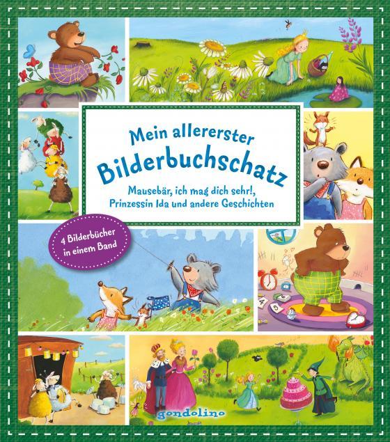 Cover-Bild Mein allererster Bilderbuchschatz: Mausebär, ich mag dich sehr!, 10 kleine Schafe und andere Geschichten