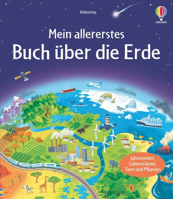 Cover-Bild Mein allererstes Buch über die Erde