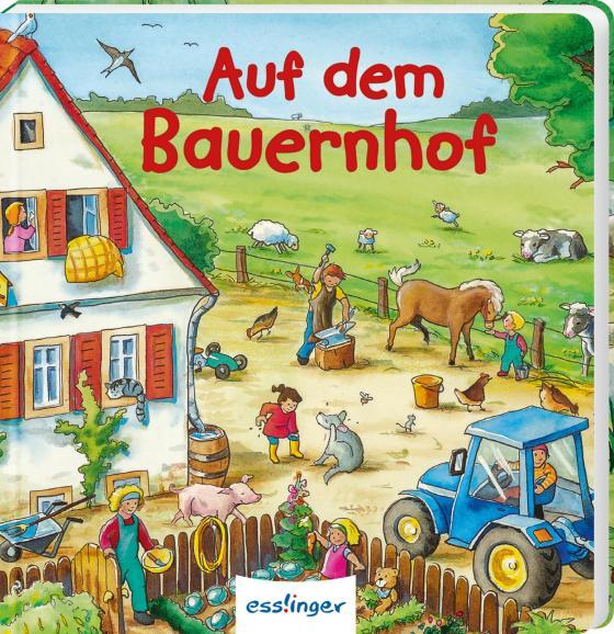 Cover-Bild Mein allererstes Wimmelbuch: Auf dem Bauernhof (Mini-Ausgabe)