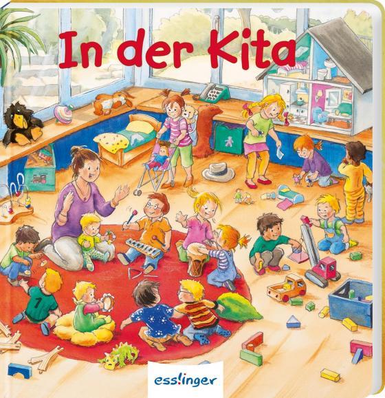 Cover-Bild Mein allererstes Wimmelbuch: In der Kita (Mini-Ausgabe)