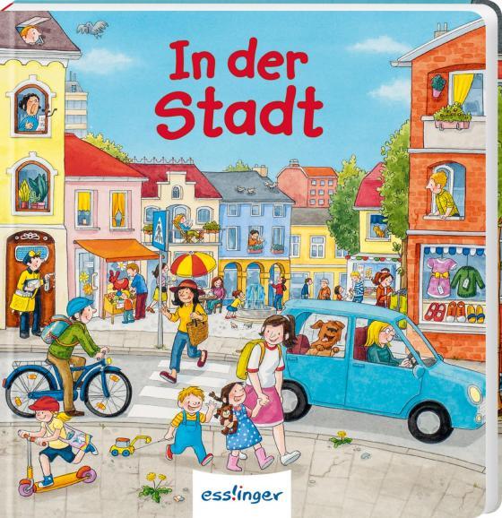 Cover-Bild Mein allererstes Wimmelbuch: In der Stadt (Mini-Ausgabe)