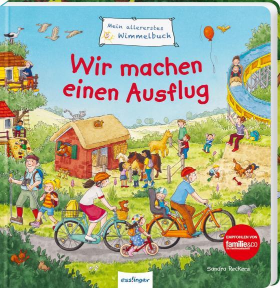 Cover-Bild Mein allererstes Wimmelbuch: Wir machen einen Ausflug