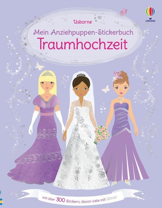 Cover-Bild Mein Anziehpuppen-Stickerbuch: Traumhochzeit