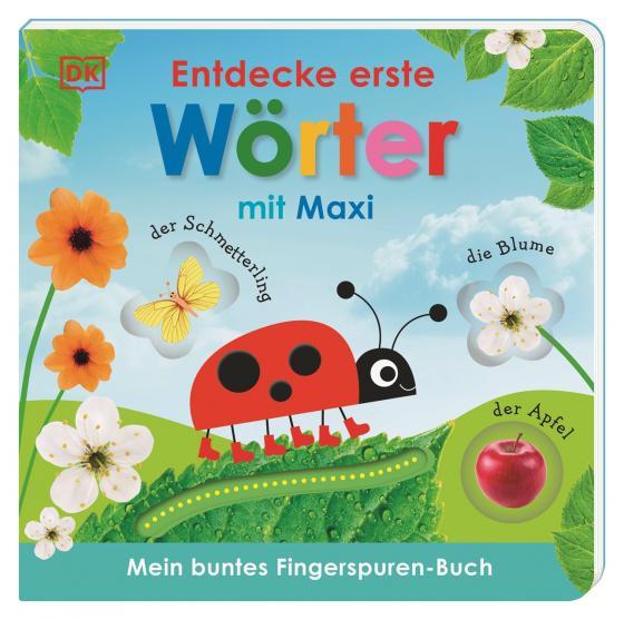 Cover-Bild Mein buntes Fingerspuren-Buch. Entdecke erste Wörter mit Maxi