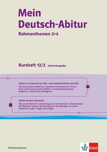 Cover-Bild Mein Deutsch-Abitur 2021. Ausgabe Niedersachsen