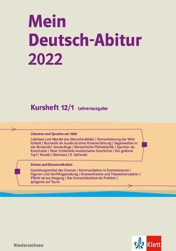 Cover-Bild Mein Deutsch-Abitur 2022. Ausgabe Niedersachsen