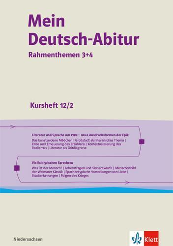 Cover-Bild Mein Deutsch-Abitur Rahmenthemen 3+4. Ausgabe Niedersachsen