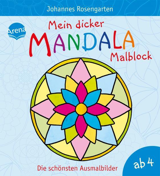 Cover-Bild Mein dicker Mandala-Malblock