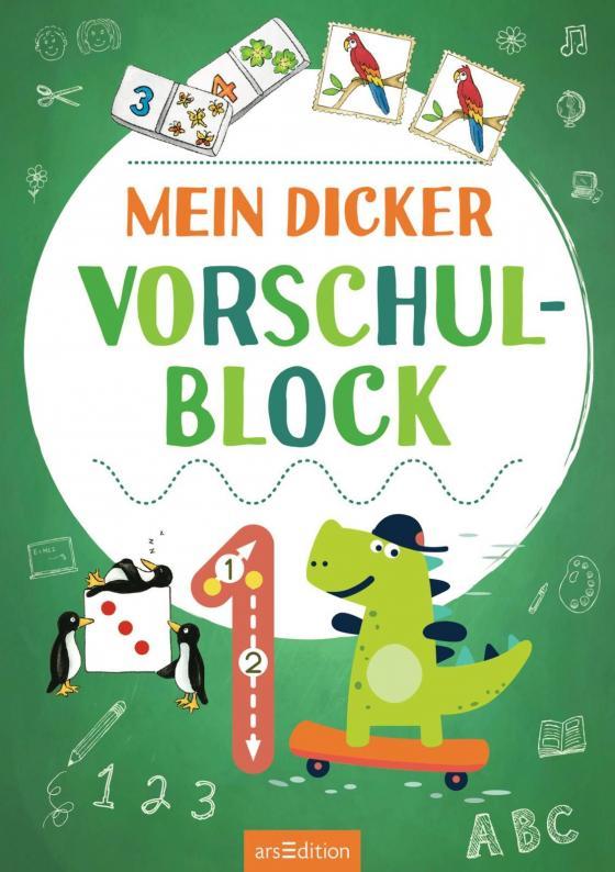 Cover-Bild Mein dicker Vorschulblock