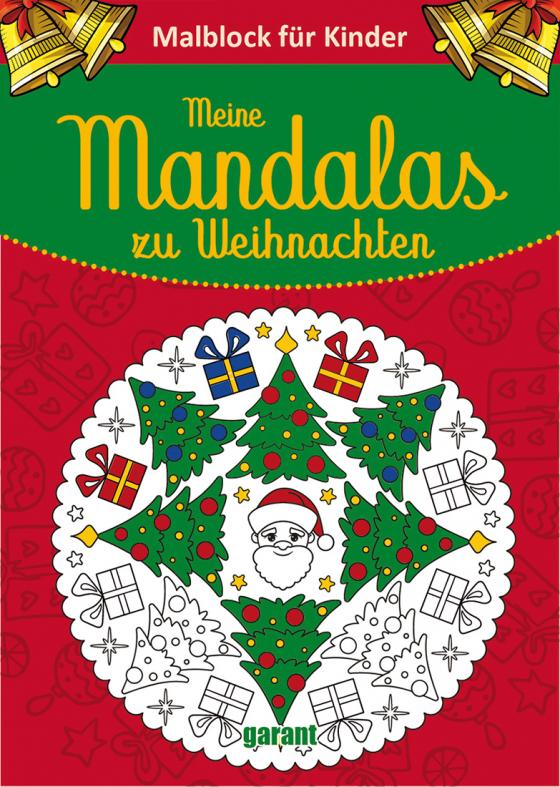 Cover-Bild Mein dicker Weihnachts-Mandala-Block