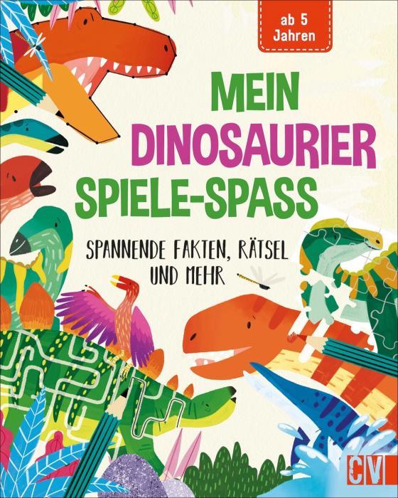 Cover-Bild Mein Dinosaurier-Spiele-Spaß