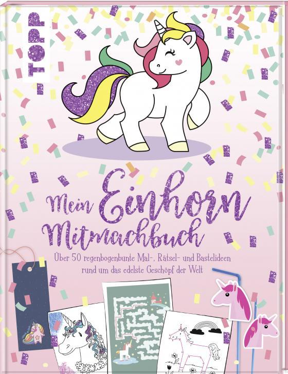 Cover-Bild Mein Einhorn-Mitmachbuch