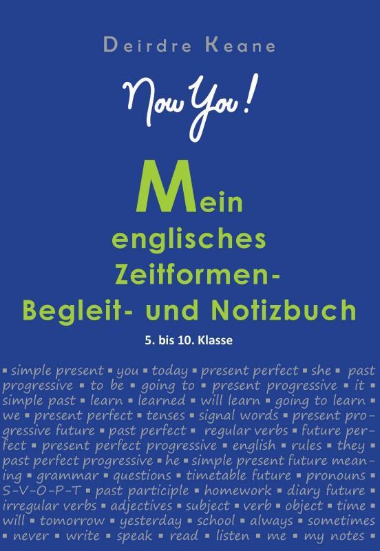 Cover-Bild Mein englisches Zeitformen- Begleit- und Notizbuch