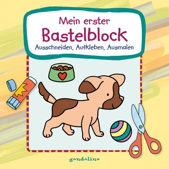Cover-Bild Mein erster Bastelblock (Hundewelpe)