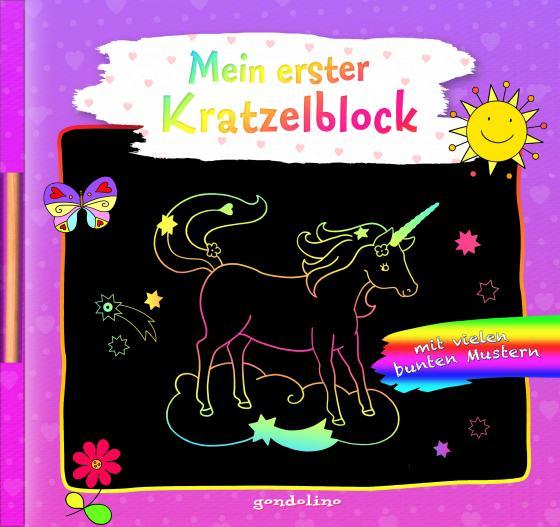 Cover-Bild Mein erster Kratzelblock (Einhorn)