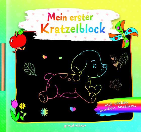 Cover-Bild Mein erster Kratzelblock (Hund)