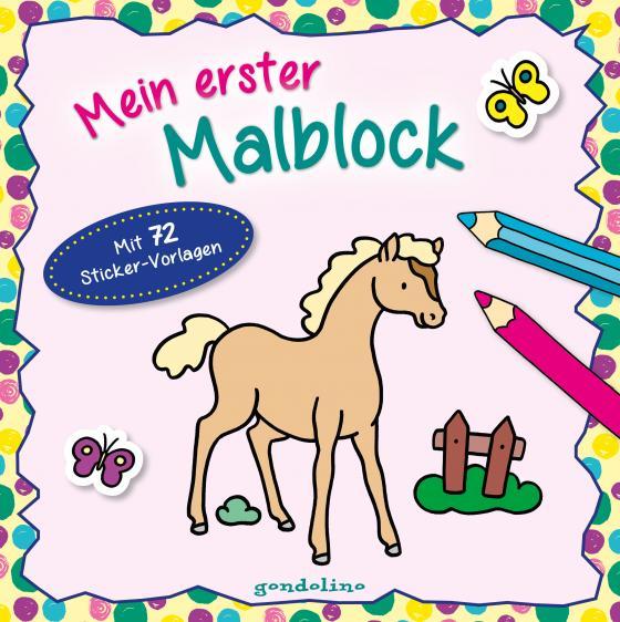 Cover-Bild Mein erster Malblock (Fohlen)