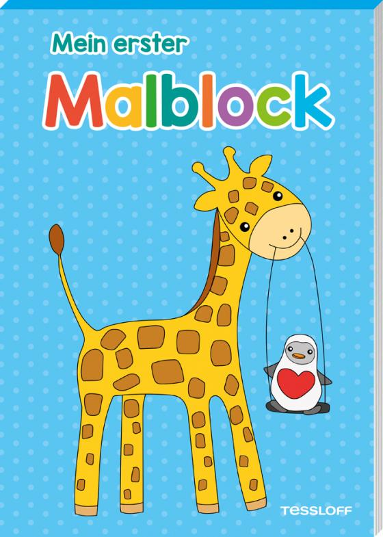 Cover-Bild Mein erster Malblock (Giraffe)