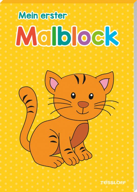 Cover-Bild Mein erster Malblock (Katze)