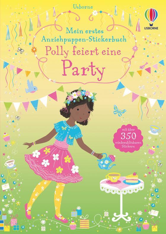Cover-Bild Mein erstes Anziehpuppen-Stickerbuch: Polly feiert eine Party
