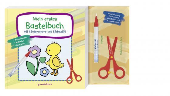 Cover-Bild Mein erstes Bastelbuch mit Kinderschere und Klebestift (Küken) - ab 3 Jahre - Frühförderung: Feinmotorik, Kreativität und Konzentration