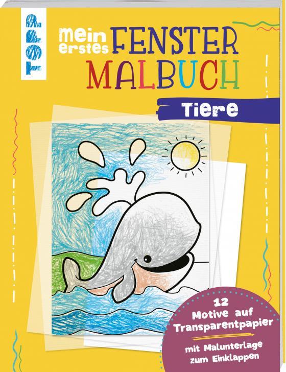 Cover-Bild Mein erstes Fenster-Malbuch Tiere