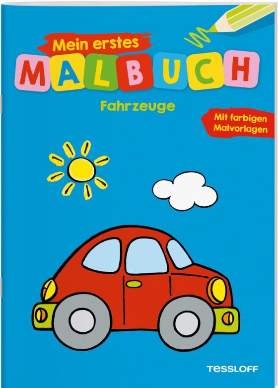 Cover-Bild Mein erstes Malbuch Fahrzeuge