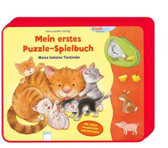 Cover-Bild Mein erstes Puzzle-Spielbuch. Meine liebsten Tierkinder