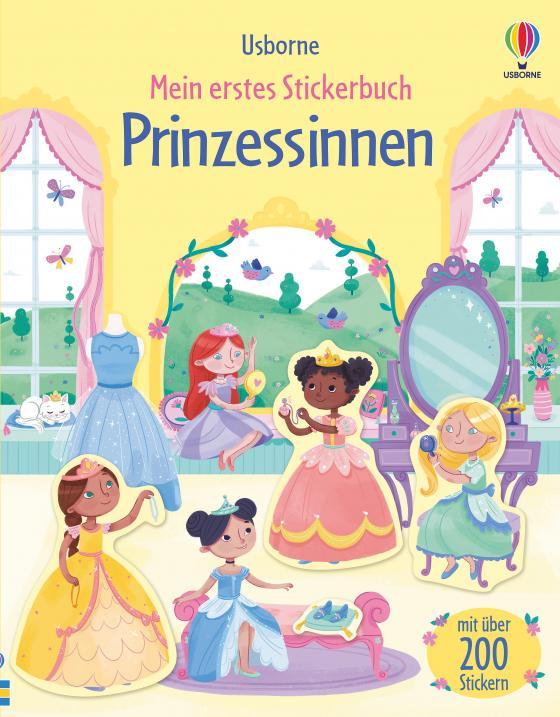 Cover-Bild Mein erstes Stickerbuch: Prinzessinnen