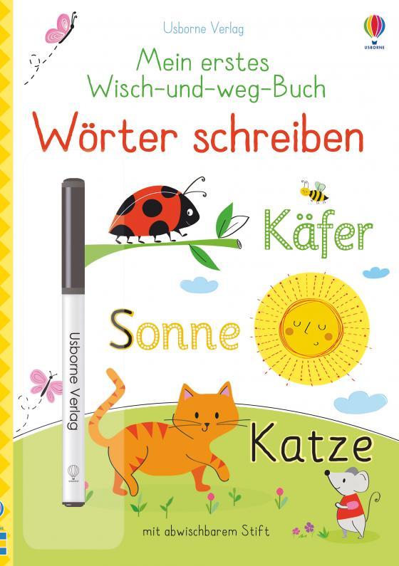 Cover-Bild Mein erstes Wisch-und-weg-Buch: Wörter schreiben
