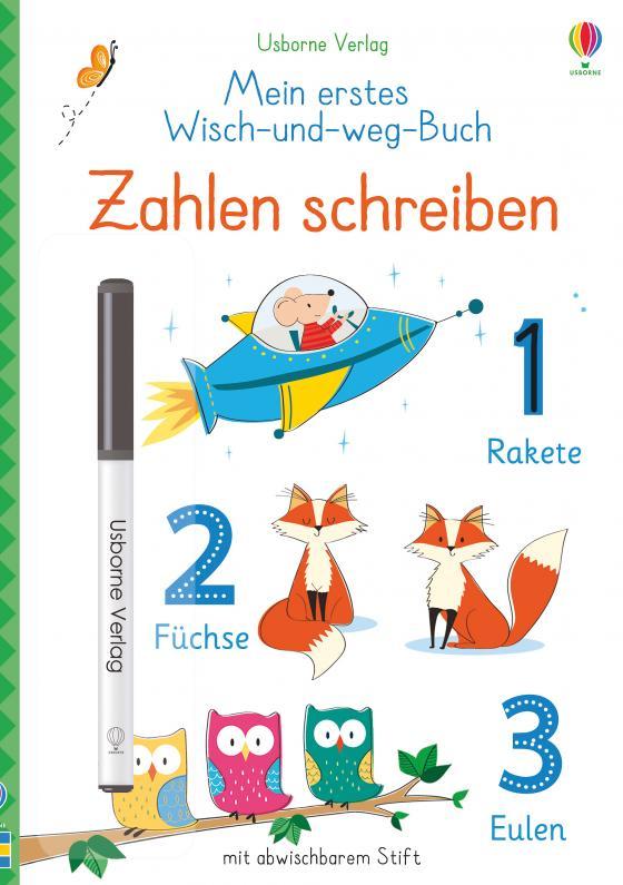 Cover-Bild Mein erstes Wisch-und-weg-Buch: Zahlen schreiben