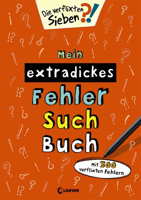 Cover-Bild Mein extradickes Fehler-Such-Buch (orange)