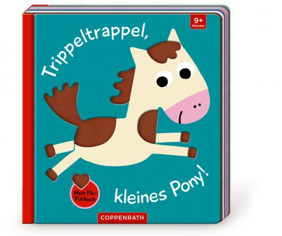 Cover-Bild Mein Filz-Fühlbuch: Trippeltrappel, kleines Pony!