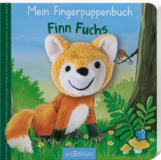 Cover-Bild Mein Fingerpuppenbuch - Finn Fuchs
