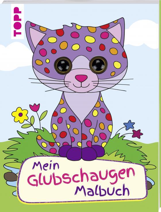 Cover-Bild Mein Glubschaugen-Malbuch