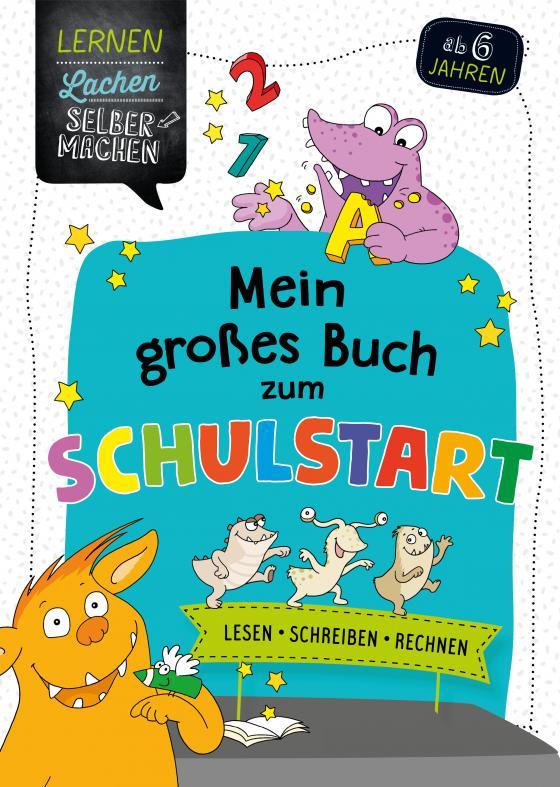 Cover-Bild Mein großes Buch zum Schulstart