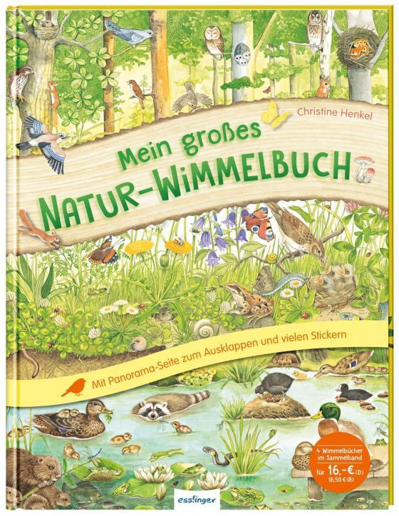 Cover-Bild Mein großes Natur-Wimmelbuch