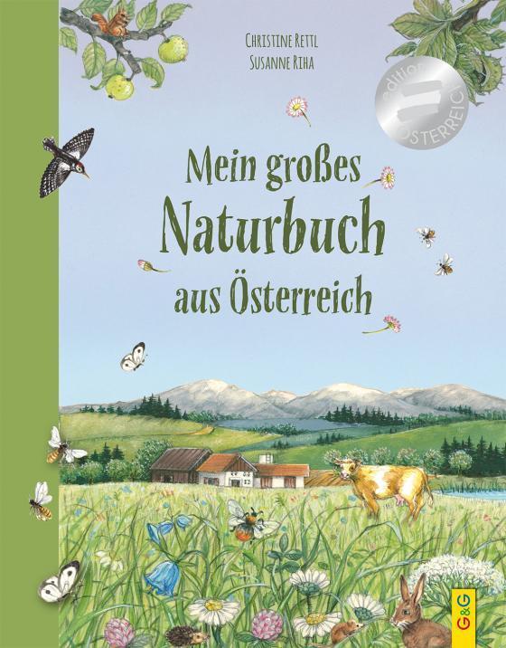 Cover-Bild Mein großes Naturbuch aus Österreich