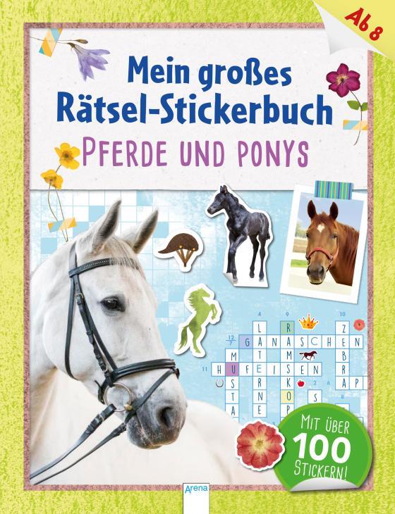 Cover-Bild Mein großes Rätsel-Stickerbuch. Pferde und Ponys