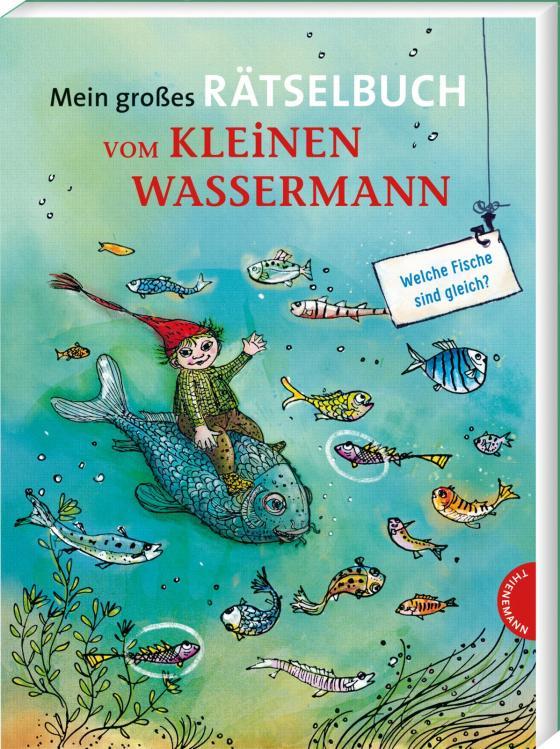 Cover-Bild Mein großes Rätselbuch vom kleinen Wassermann