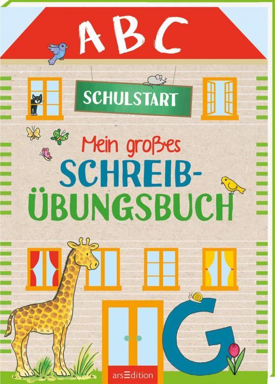 Cover-Bild Mein großes Schreibübungsbuch