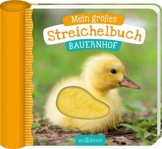 Cover-Bild Mein großes Streichelbuch - Bauernhoftiere