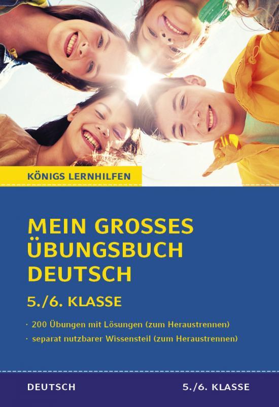 Cover-Bild Mein großes Übungsbuch Deutsch. 5./6. Klasse.