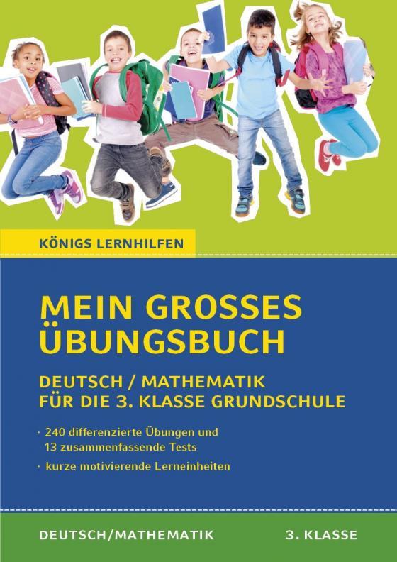 Cover-Bild Mein großes Übungsbuch Deutsch & Mathematik für die 3. Klasse Grundschule.