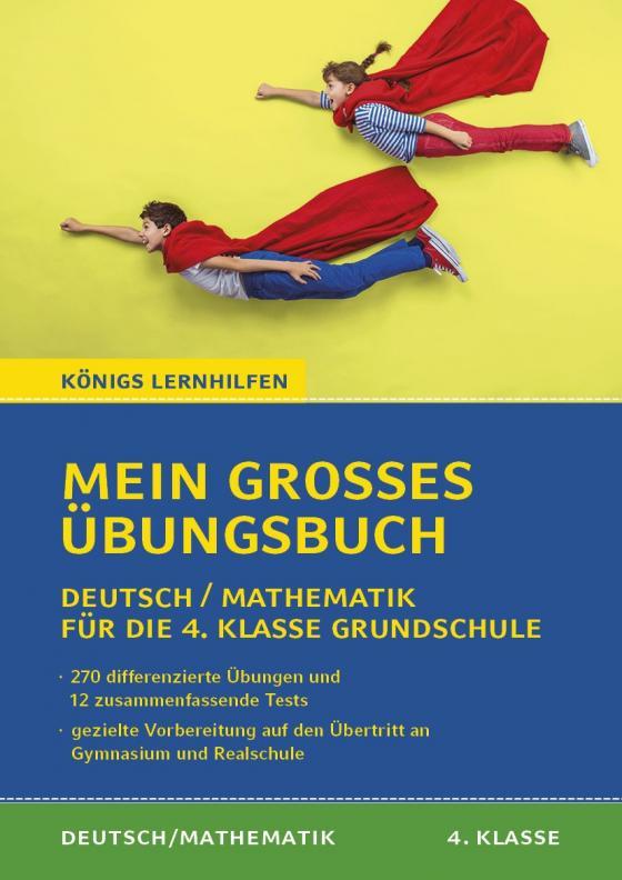 Cover-Bild Mein großes Übungsbuch Deutsch & Mathematik für die 4. Klasse Grundschule.
